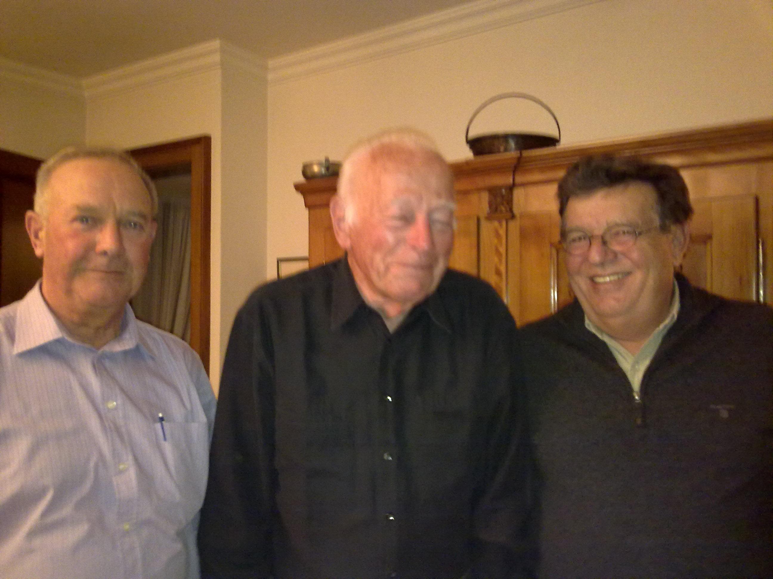 90ème anniversaire d'Albert Schwab de Lutry, le 22 novembre 2011