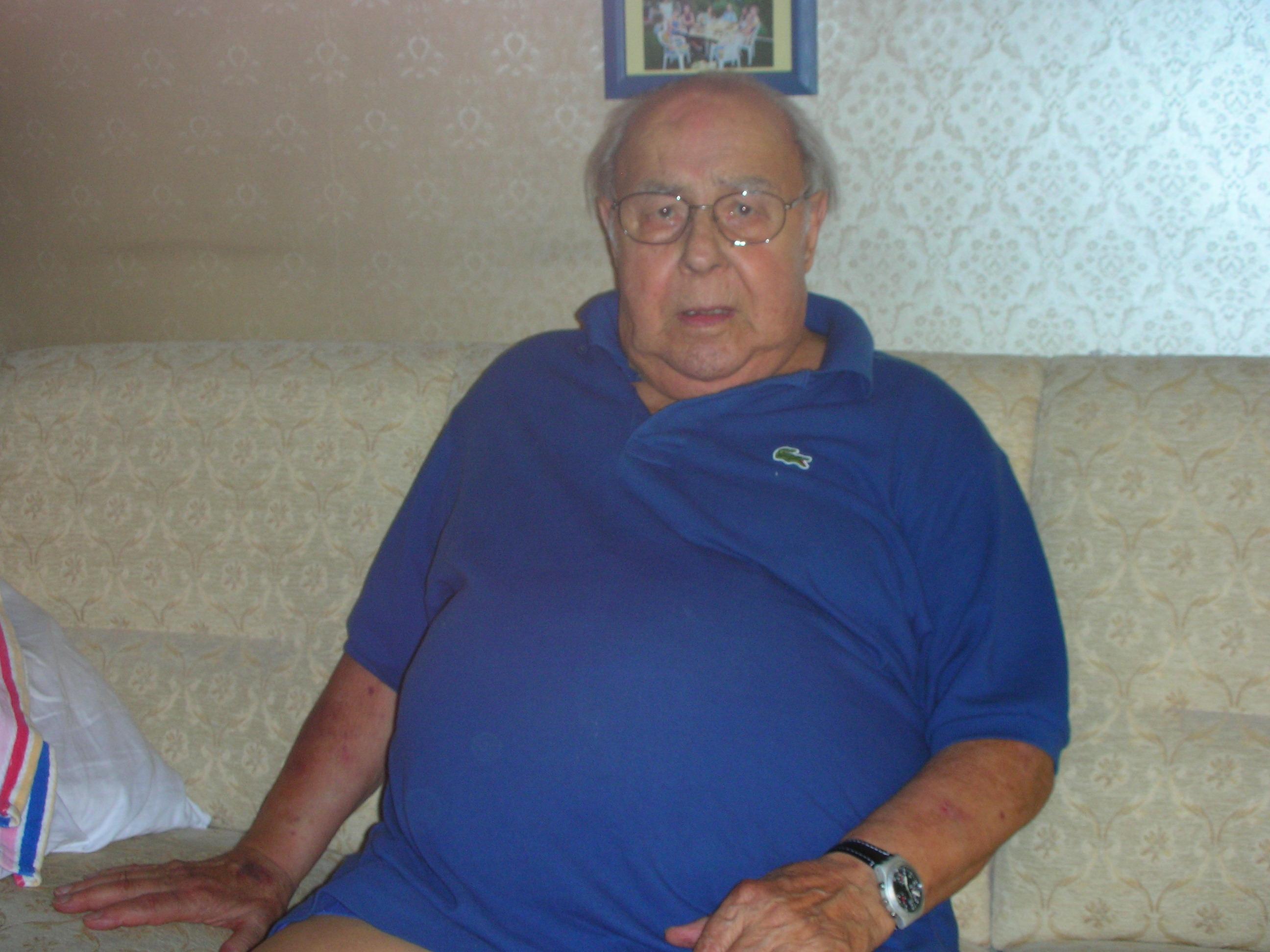 90 ans de Mario Minacci de la société de Vevey-Ancienne